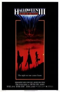 Halloween III Season of the Witch film poster