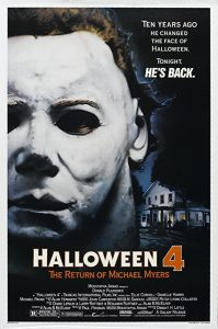Halloween 4 The Return of Michael Myers film poster