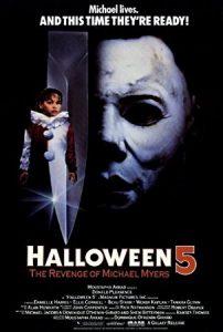 Halloween 5 film poster