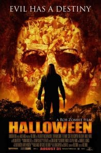 Halloween film poster Rob Zombie