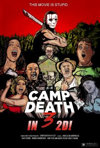 Camp Death II film poster