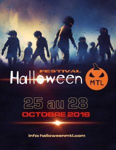Halloween MTL première édition affiche poster