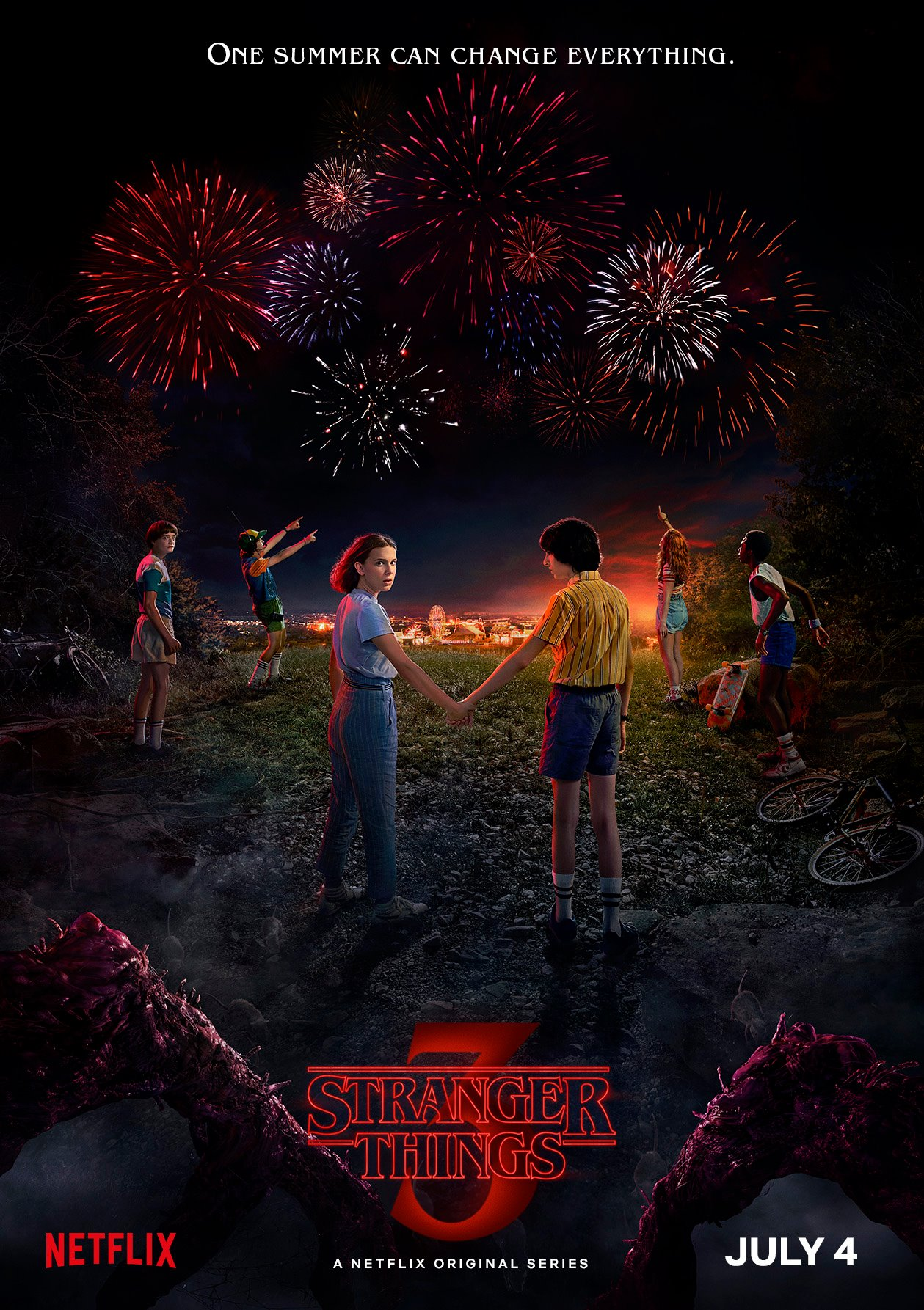 Stranger things 3 affiche