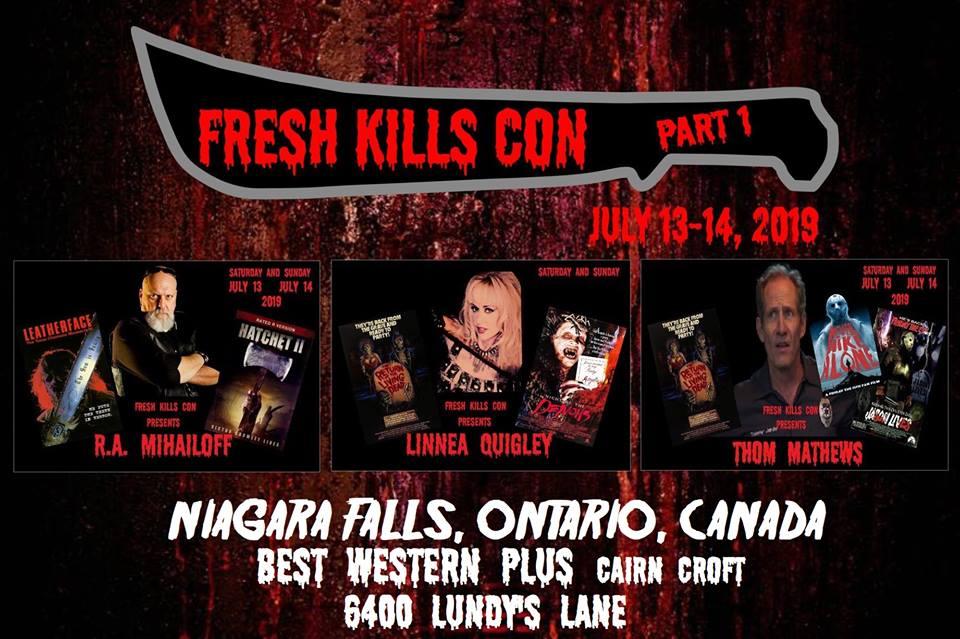 Fresh Kills Con 2019 affiche