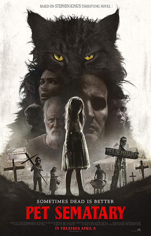 Pet Sematary 2019 affiche film