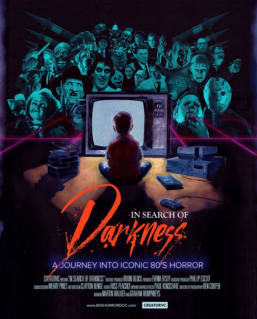 In search of darkness affiche