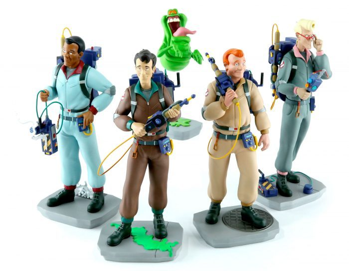 Real Gostbusters figurines