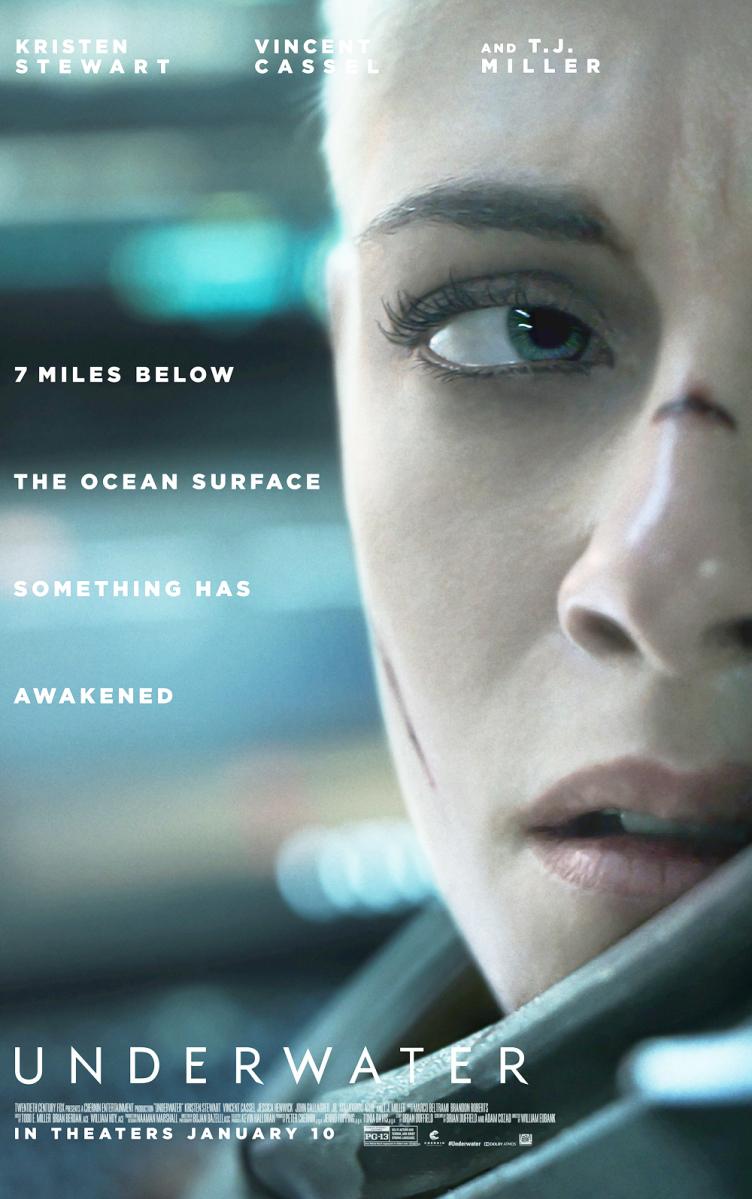 Resultado de imagem para underwater William Eubank poster