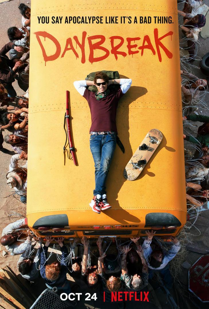 Daybreak affiche Netflix