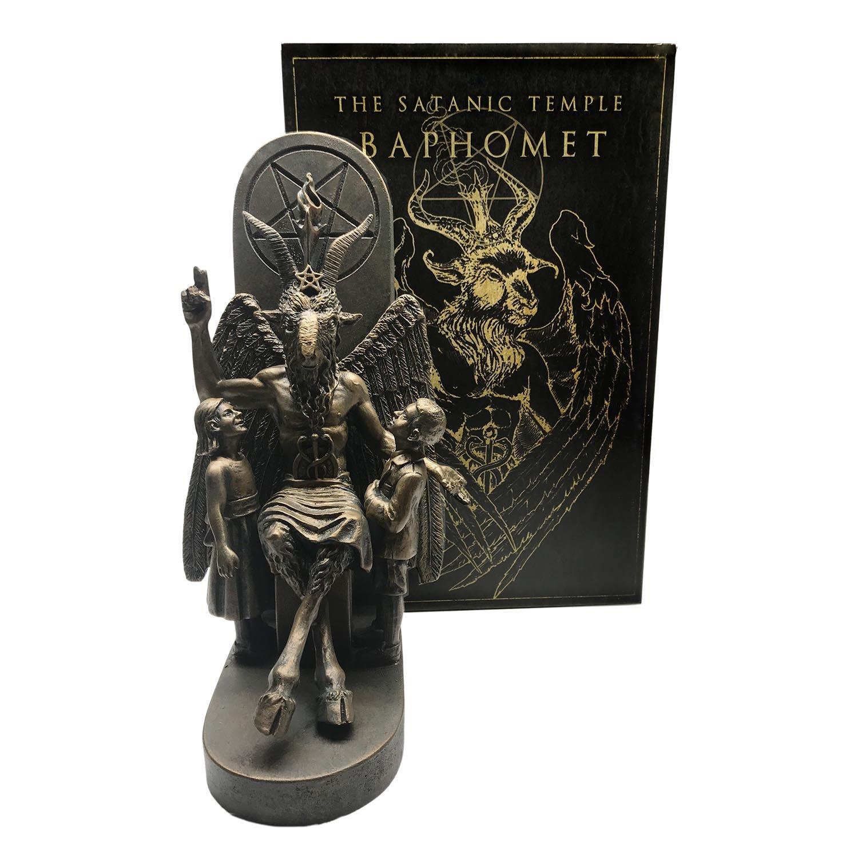 Dellamorteco statue Baphomet