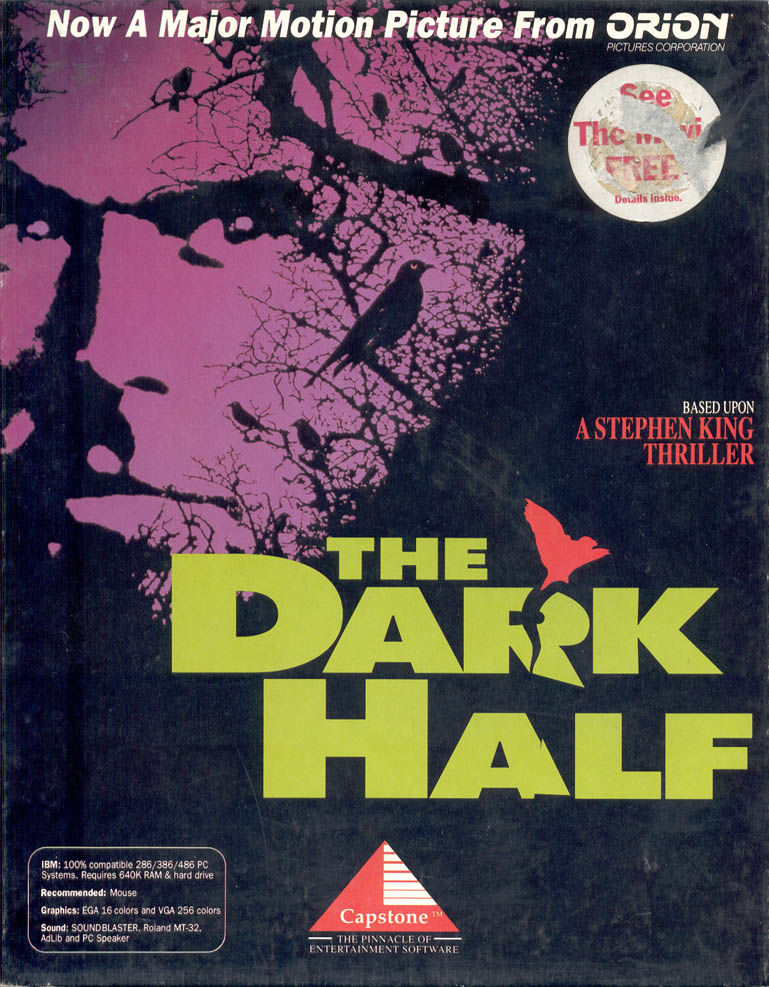 The Dark Half affiche film