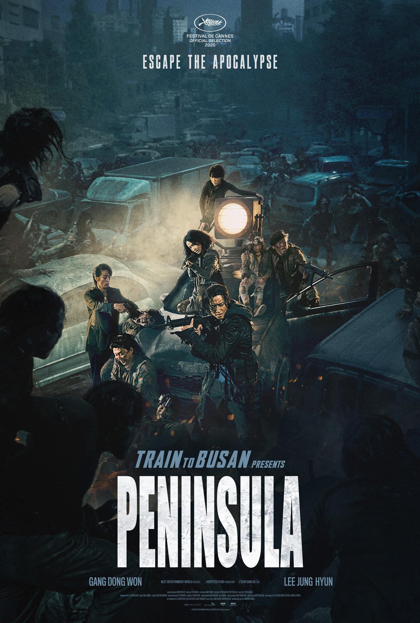 Train To Busan Presents Peninsula affiche film