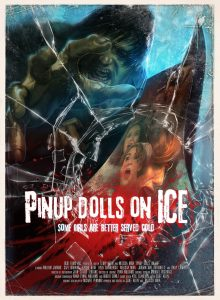 Pinup dolls on ice affiche film