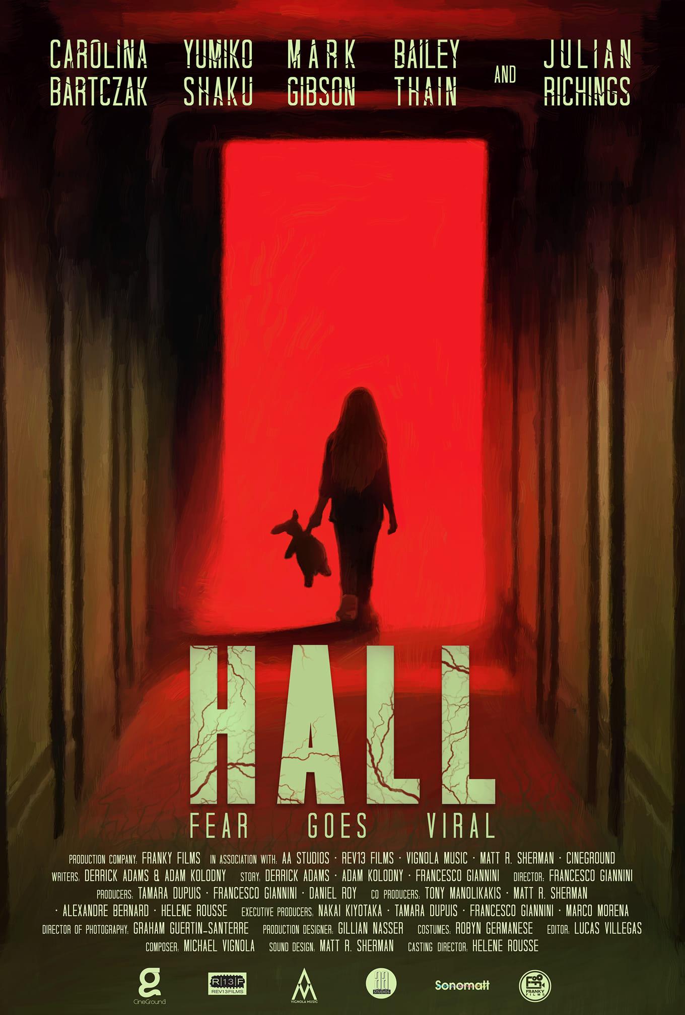 Hall afficher film