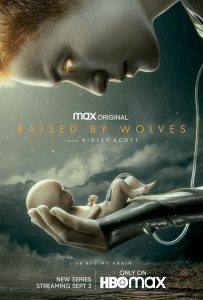Raised by wolves affiche