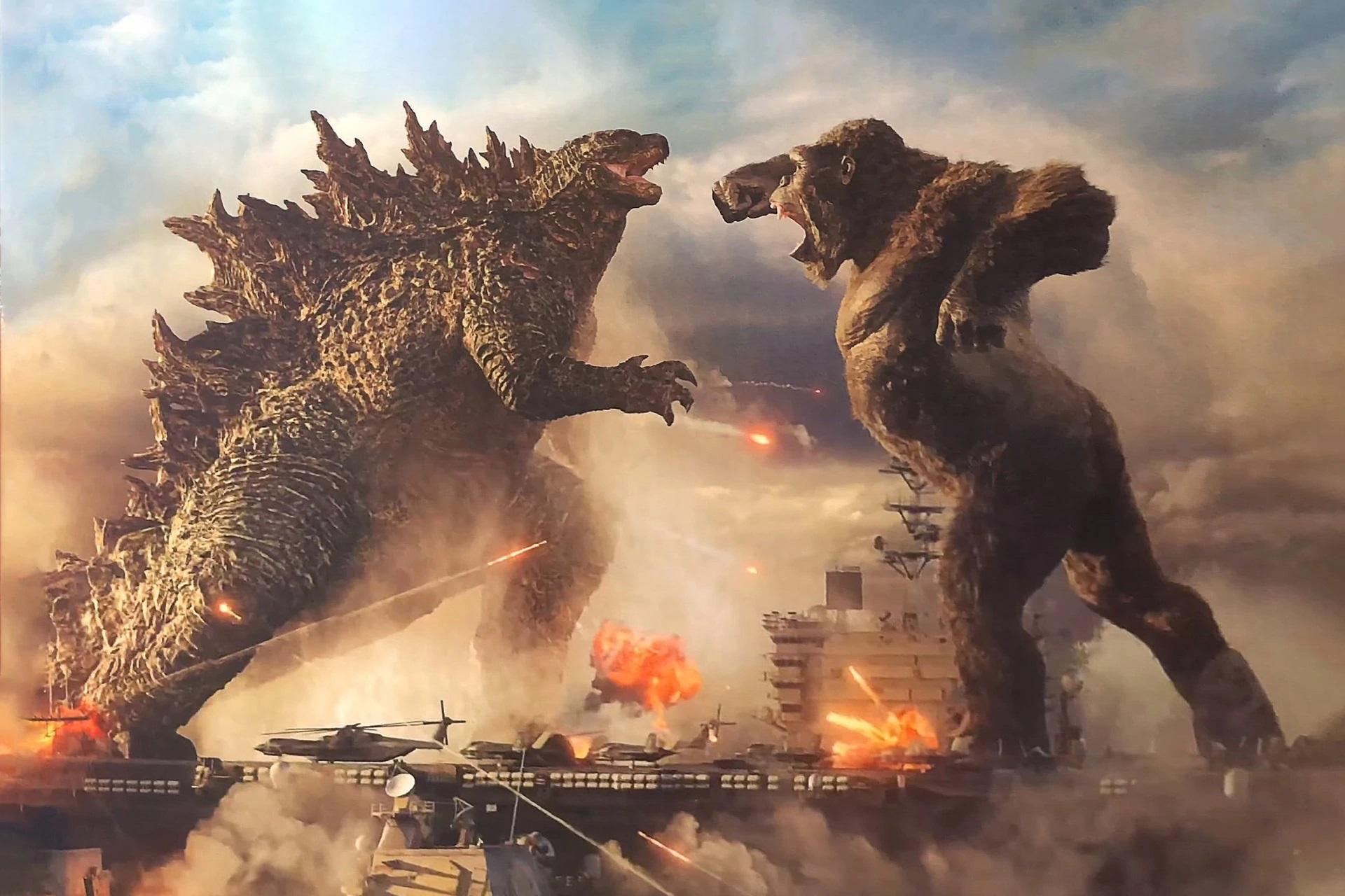 Godzilla vs Kong image film