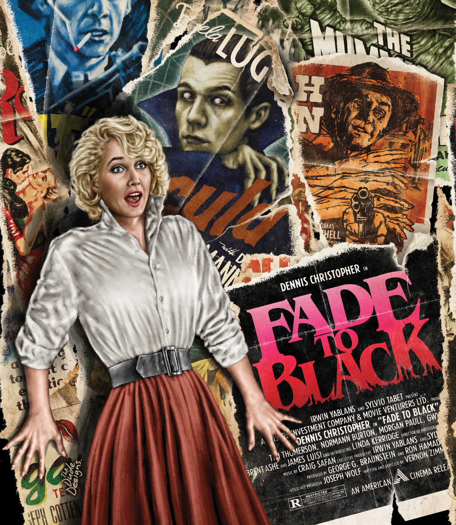 Fade to black image film