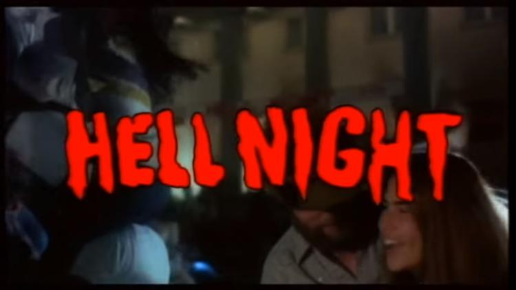 He'll night affiche film
