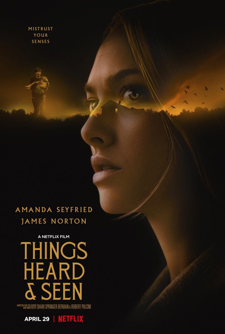 Things Heard and Seen affiche film