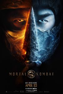 Mortal Kombat 2021 affiche film